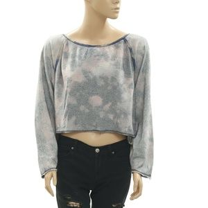 Ecote Urban Outfitters Lace Tie Dye Pullover Top L